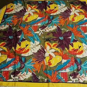 Harve Benard 100% silk scarf